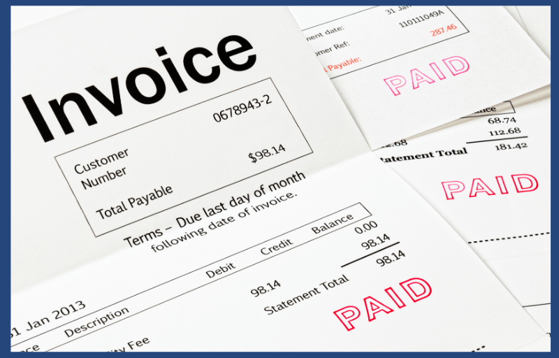 Invoice Template (Excel and Word) - Fully customizable 1